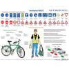 Stiefel Kerékpáros KRESZ faléces tabló