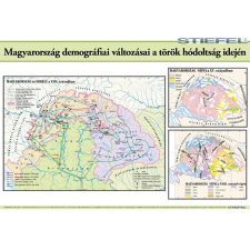 Stiefel Magyarország demográfiai változásai a török hódoltság idején térkép
