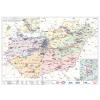 Stiefel Magyarország villamoshálózati keretezett térképe