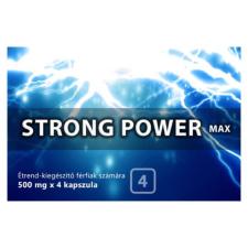 Strong Strong Power Max - étrendkiegészítő kapszula férfiaknak (4db) potencianövelő