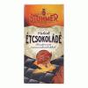 Stühmer étcsokoládé 100 g 70% kakaótartalommal, kandírozott narancsdarabokkal