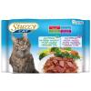 Stuzzy cat tasakos vegyes csomag 4 x 100 g - Sonka/marha