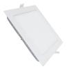 Süllyeszthető négyzet LED panel 22x22cm 18W (meleg fehér)