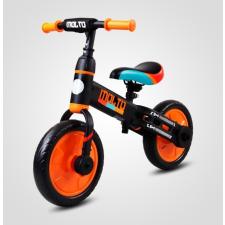 SUN BABY Futóbicikli - Extra pedállal és pótkerékkel - Narancssárga lábbal hajtható járgány