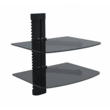 SUPERIOR Dupla üvegpolc 360x250x432mm tv állvány és fali konzol
