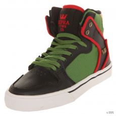 Supra Kids Sneakers Kids Vaider Black/Forest Green-White S11026K