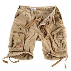 SURPLUS Vintage rövidnadrág, bézsszínű