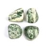 Sütő-ékszer Zöld pettyes jáde marokkő