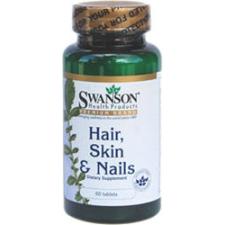 Swanson Haj, Bőr, Köröm Complex multivitamin tabletta 60db vitamin