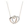 Swarovski Hearts Crystal Necklace