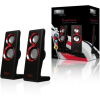 Sweex 2.0 SPK Set Purephonic SP201 - USB - piros