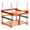 Swing SWING Színes klasszikus fa hinta gyermekek számára