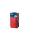 Szalvéta, 14 hajtogatott, 2 rétegű, 24x24 cm, TORK Advanced, piros