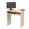 Számítógépasztal, sonoma tölgyfa, VERNER NEW