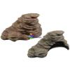 Szer-Ber Szép megformázású kerámia kilépő terráriumba, akvaterráriumba