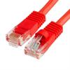 Szerelt patch kábel UTP Cat6 20 m PVC PIROS