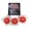 szexvital.hu Gumicukor péniszgyűrű szett (3db) - cseresznye