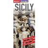 Szicília laminált térkép - Insight