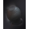 Sziklai Váltógomb, Opel/Renault, fekete bőr fekete varrattal (MMTCP10059)