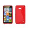 Szilikon tok, Microsoft Lumia 640, védőtok, S-LINE, korall piros