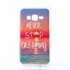 Szilikon tok, Samsung Galaxy S8 Plus G955, átlátszó, mintás hátlap, minta 1 (Naplemente)