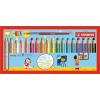 """SZÍNES ceruza készlet, kerek, vastag, STABILO """"Woody 3 in 1"""", 18 különböző szín+ (TST880183)"""