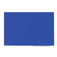 Színes üvegtábla, 90x120cm, kék mágnestábla