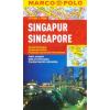 Szingapúr vízhatlan várostérkép tömegközlekedéssel - Marco Polo
