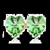 Szív kristály fülbevaló