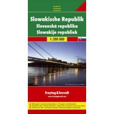 Szlovákia autótérkép - f&b AK 7501 térkép