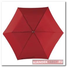 Szuper lapos mini esernyő, sötét piros