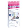 Táblafilc üvegtáblákhoz, pink, 4 db