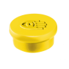 Táblamágnes, 10 mm, sárga