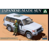 Takom Japanese-made SUV with figure katonai jármű makett Takom 2007