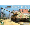 Takom WWII German Heavy Tank Sd.Kfz.182 King Tiger Porsche Turret tank makett 2074