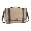 Targus City Fusion Canvas Laptop Messenger 15.6  bézs színű notebook táska