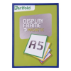 TARIFOLD Display keret, mágneses, 120x45 mm, TARIFOLD, kék