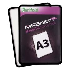 """TARIFOLD Mágneses tasak, mágneses háttal, A3, TARIFOLD """"Magneto Solo"""", fekete irodai kellék"""