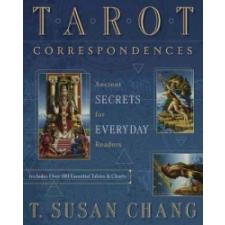 Tarot Correspondences – T. Susan Chang idegen nyelvű könyv