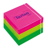 TARTAN 76x76 mm 100 lapos neon vegyes öntapadó jegyzettömb (6 tömb/csomag)