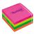 TARTAN 76x76 mm 400 lapos neon vegyes öntapadó jegyzettömb