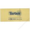 TARTAN Önatapadó jegyzettömb, 38x51 mm, 100 lap, 12 tömb/cs, TARTAN, sárga (LPT5138)