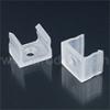 Tartó-, rögzítő elem Surface-3 alumínium LED profilhoz, műa.