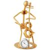 Tavolino miniatűr hegedűművész óra