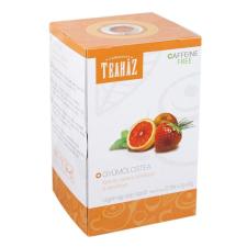 TEAHÁZ TEA Teaház Gyüm.tea Eper-Narancs-Citromfű 20 Filter tea