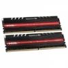 Team Group Delta Series piros LED, DDR4-2400, CL15 - 32 GB Kit /TDTRD432G2400HC15BDC01/