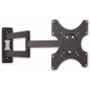 "Techly 19""-37"" Wall Bracket for LED LCD TV Tilt 3 Joints fekete"