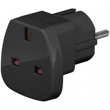 Techly hálózati adapter; UK/EU 13A; UK/BS - CEE 7/7 tablet kellék