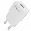 Techly hálózati töltő, Slim USB 5V 2.1A fehér
