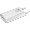 Techly Slim USB charger 230V -> 5V/1A white